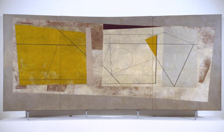 Festival of Britain Mural 1951 by Ben Nicholson OM 1894-1982