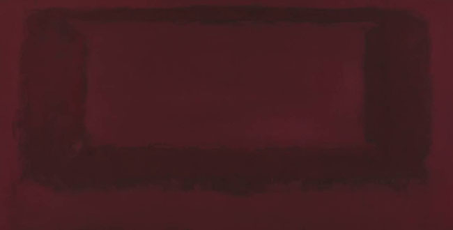 Red on Maroon 1959 Mark Rothko 1903-1970 (Part of the Seagram Murals)