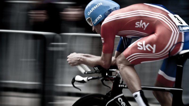 David Millar Time Trialling
