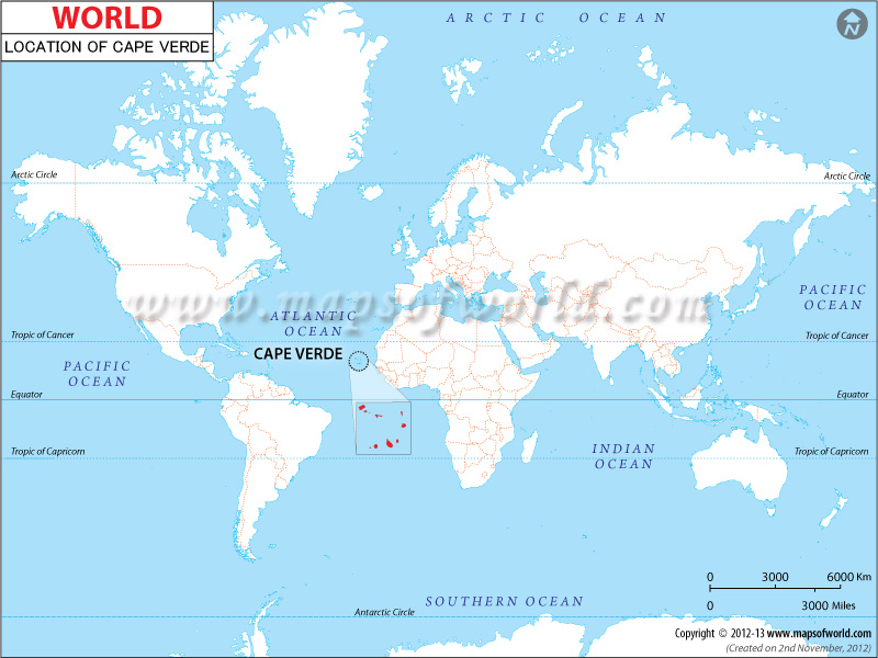 cape-verde-location-map