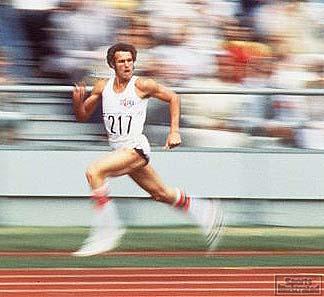 Alberto Juantorena, 1976 Olympics.Credit: Heinz Kluetmeier